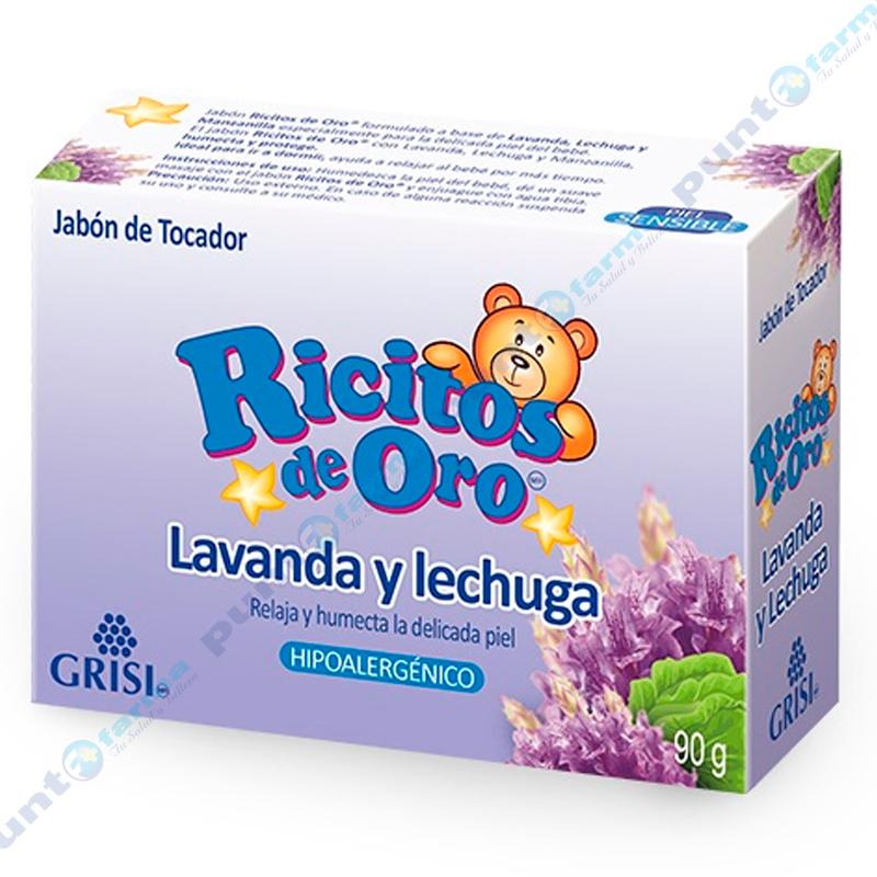 Imagen de producto: Jabón Lavanda y Lechuga Ricitos de Oro®- 90g