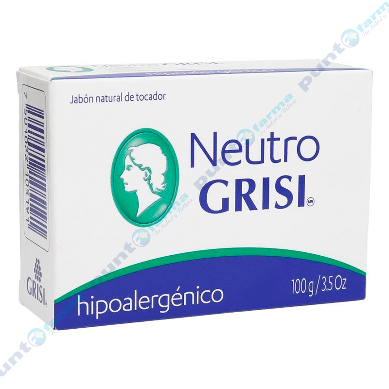 Imagen de producto: Jabón Neutro Grisi® Hipoalergénico - 100g