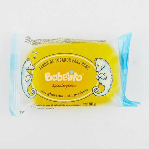 Imagen de producto: Jabón de tocador BABELITO hipoalergénico con glicerina - 90gr