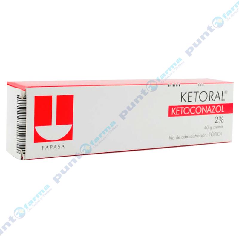 Imagen de producto: Ketoral® Ketoconazol 2% Crema - 40g