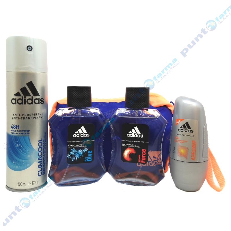 Imagen de producto: Kit Adidas 2 Edt 100 Ml Ice Dive +Tean Force