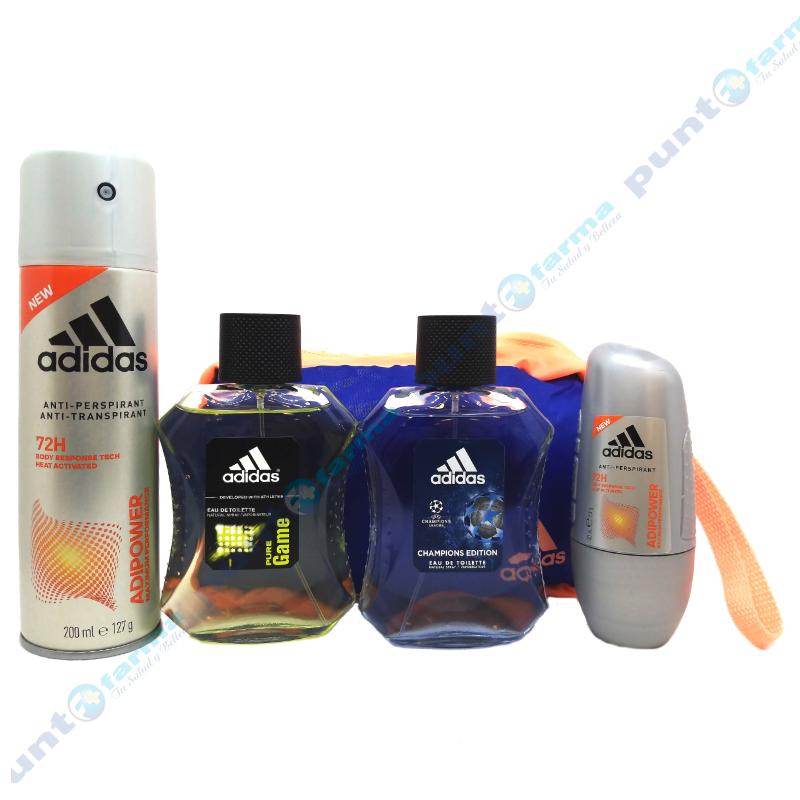 Imagen de producto: Kit Adidas 2 Edt 100 Ml Pure G  +Uefa 4