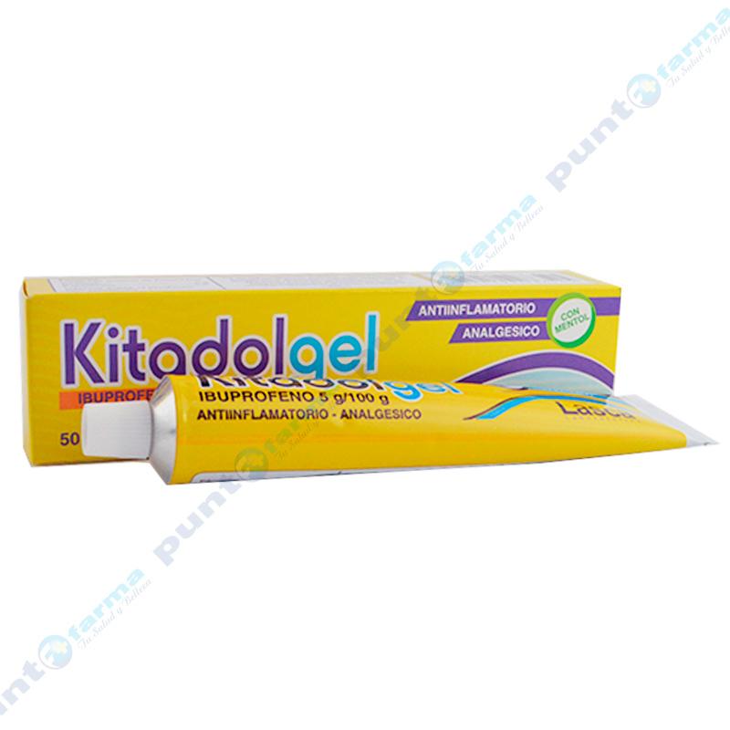Imagen de producto: Kitadol Gel Ibuprofeno 5g/100g - Contiene 50g