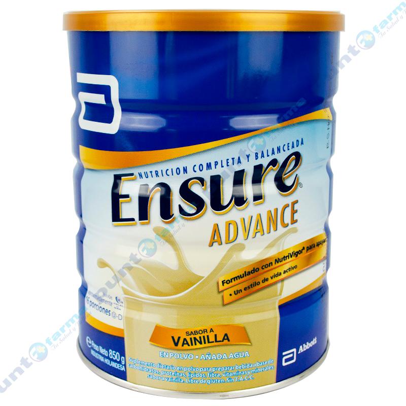 Imagen de producto: Leche en polvo sabor vainilla Ensure® ADVANCE - 850g