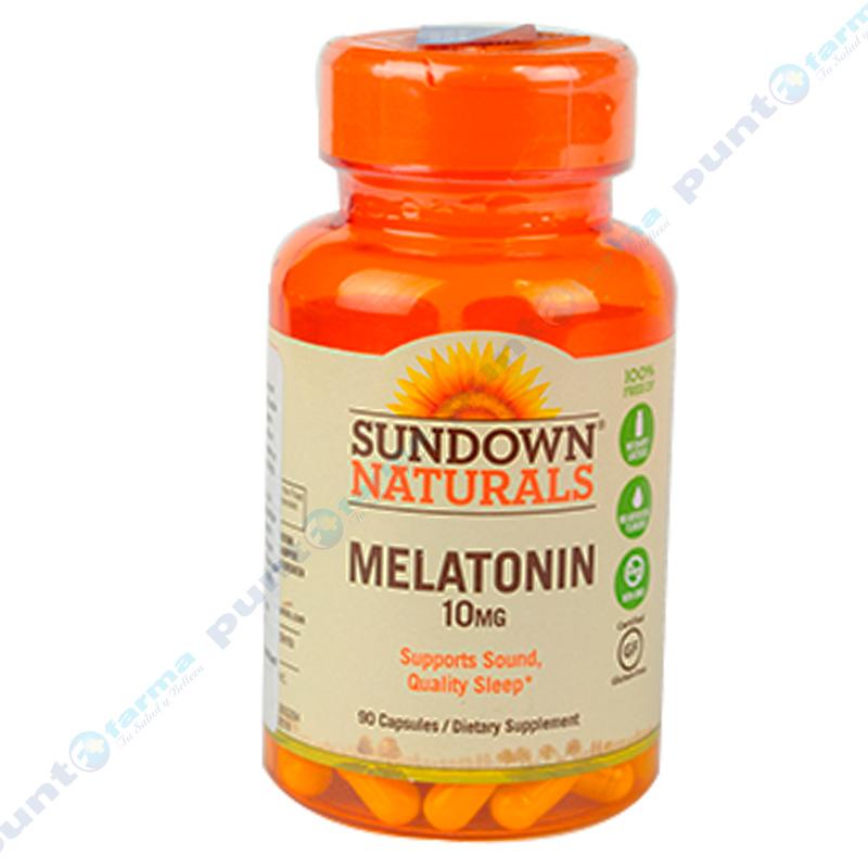 Imagen de producto: MELATONIN 10MG Sundown® Naturals - 90 cápsulas