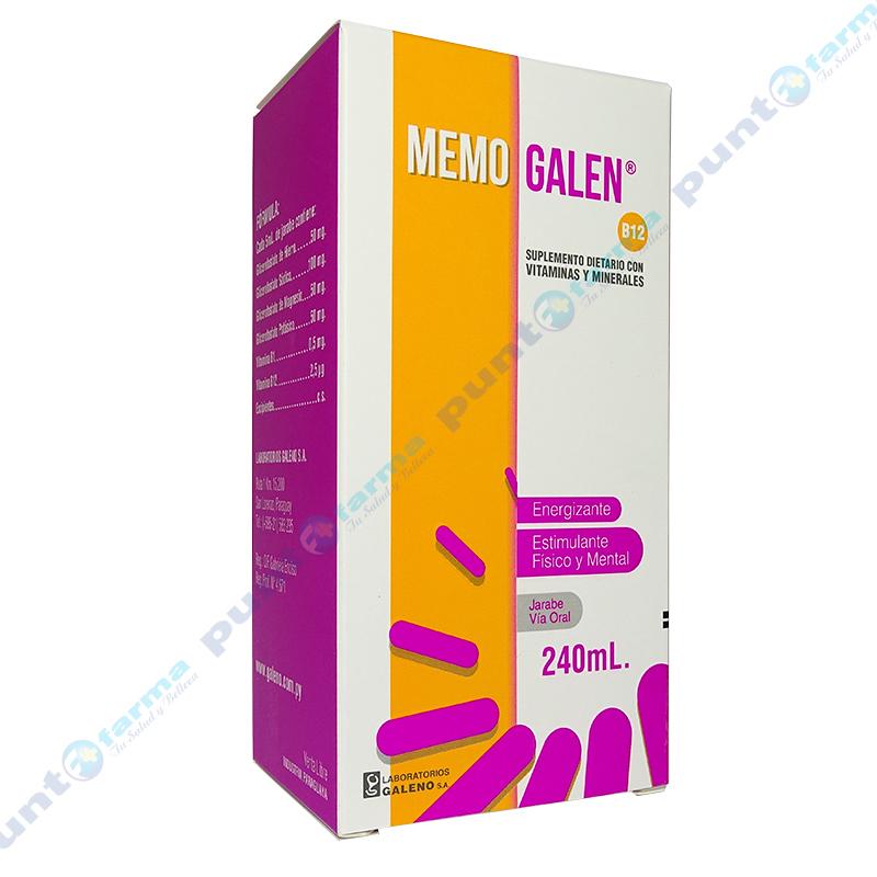 Imagen de producto: MEMO GALEN® - Jarabe de 240mL
