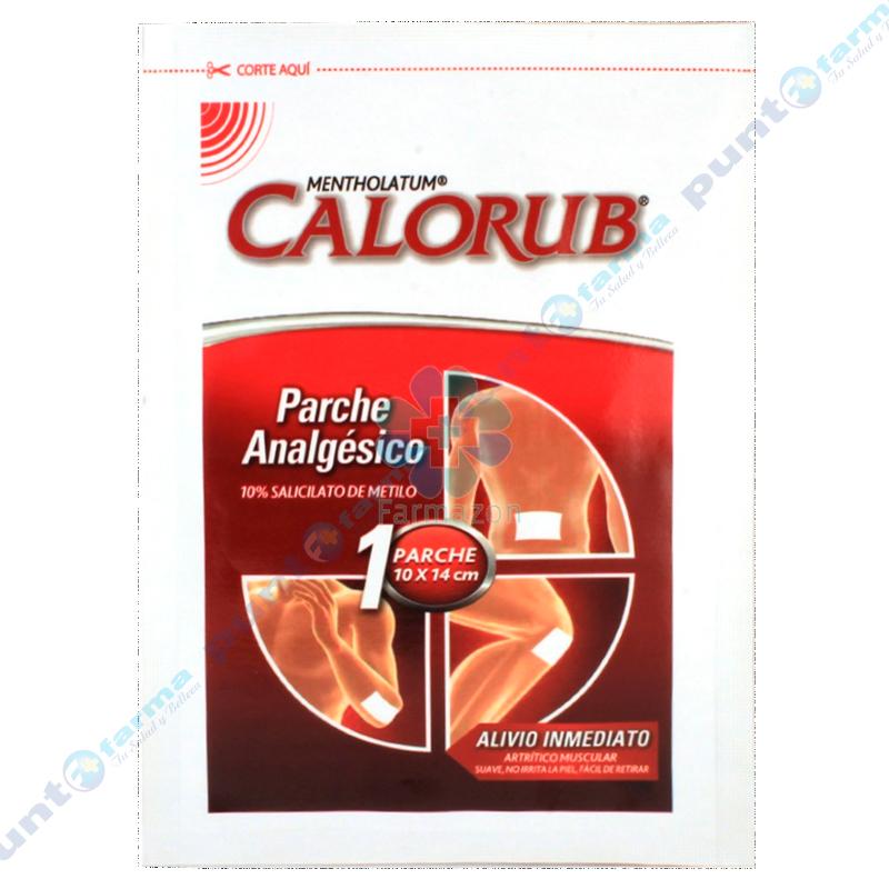 Imagen de producto: MENTHOLATUM®  - Contenido 1 parche de 10x14 cm