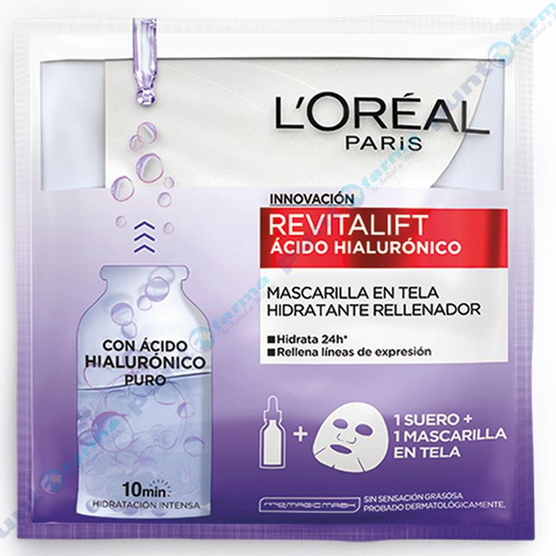 Imagen de producto: Mascarilla en Tela Revitalift con Ácido hialurónico