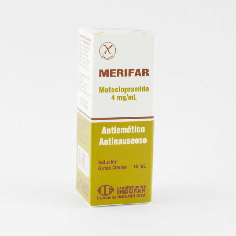 Imagen de producto: Merifar Metoclopramida - Gotas orales de 15 ml