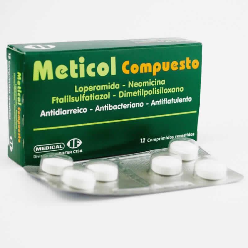 Imagen de producto: Meticol Compuesto - Caja de 12 comprimidos