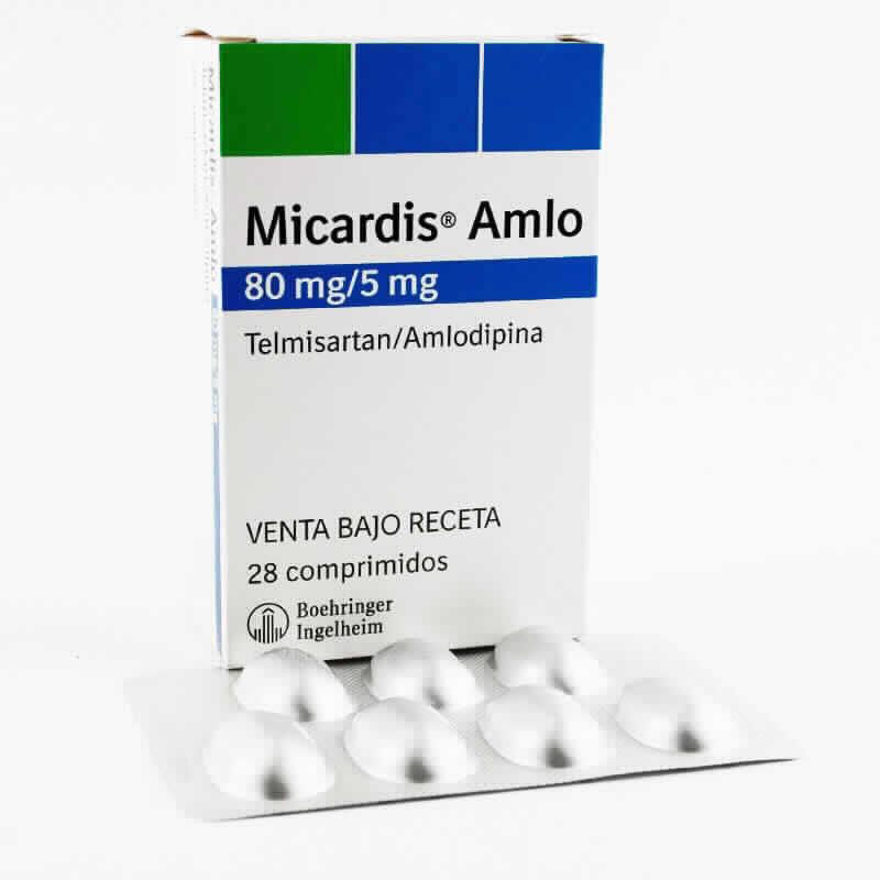 Imagen de producto: Micardis® Amlo 80mg/5mg - Caja de 28 comprimidos
