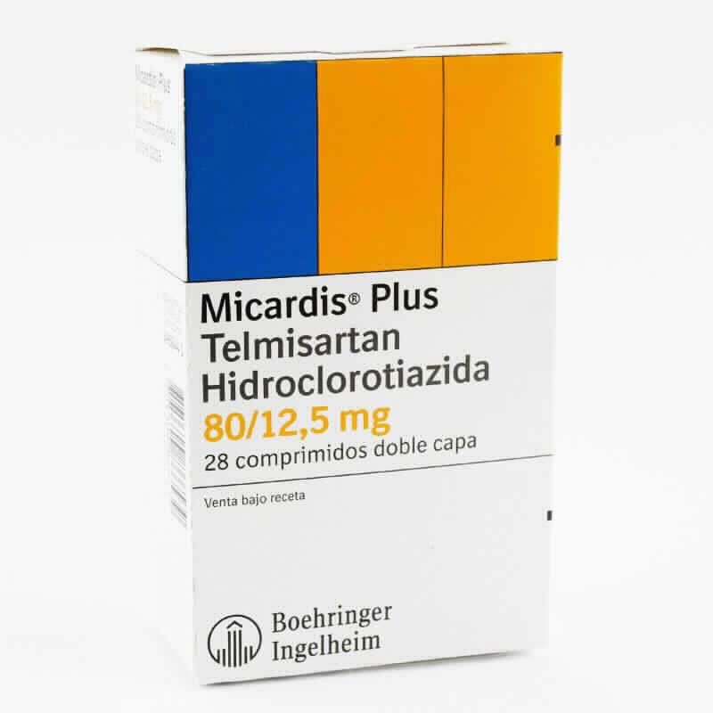 Imagen de producto: Micardis® Plus - Caja de 28 comprimidos doble capa