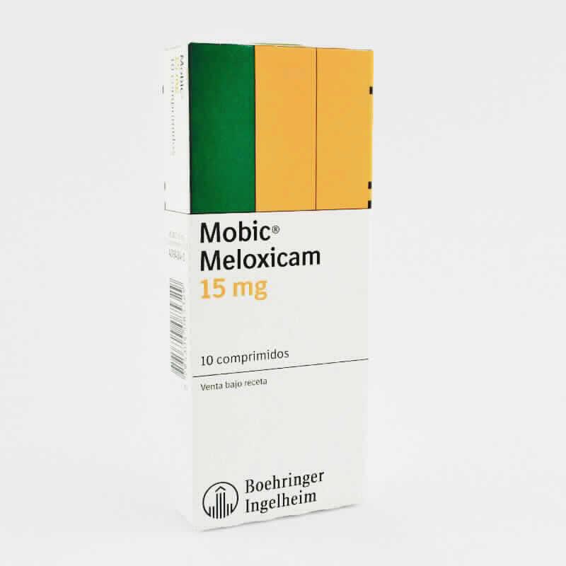 Imagen de producto: Mobic® Melloxicam 15 mg - Caja de 10 comprimidos