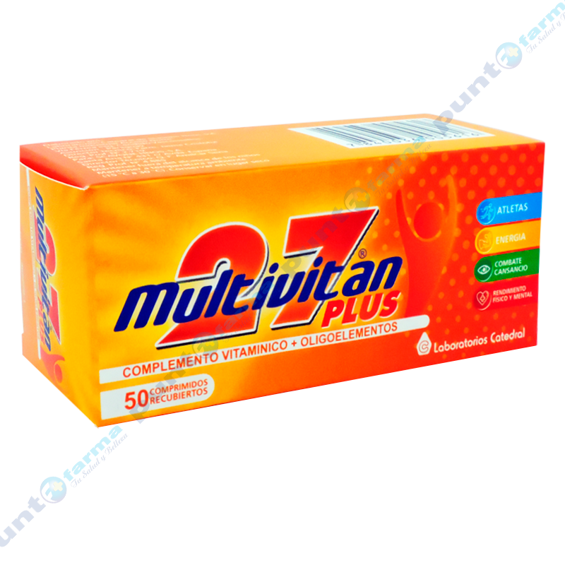 Imagen de producto: Multivitan® 27 Plus - Caja de 50 comprimidos