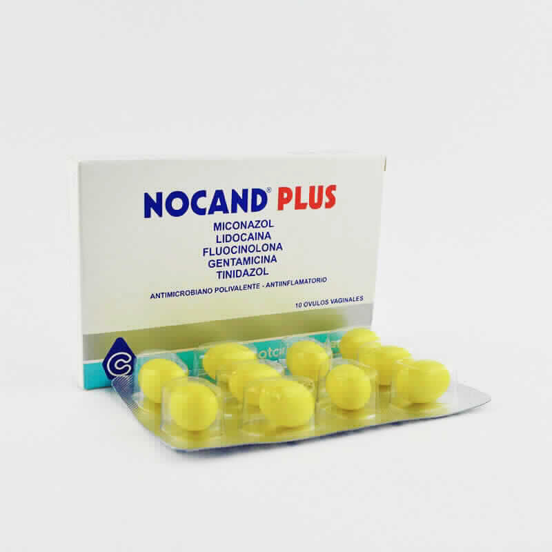 Imagen de producto: NOCAND® PLUS - Caja de 10 ovulos vaginales