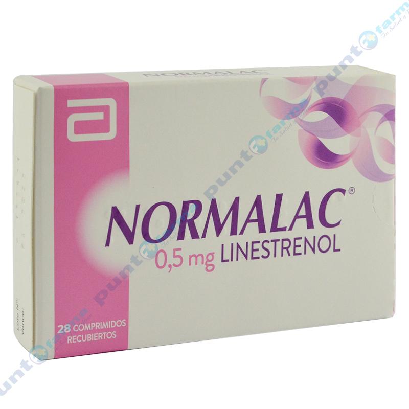 Imagen de producto: NORMALAC® 0,5mg linestrenol