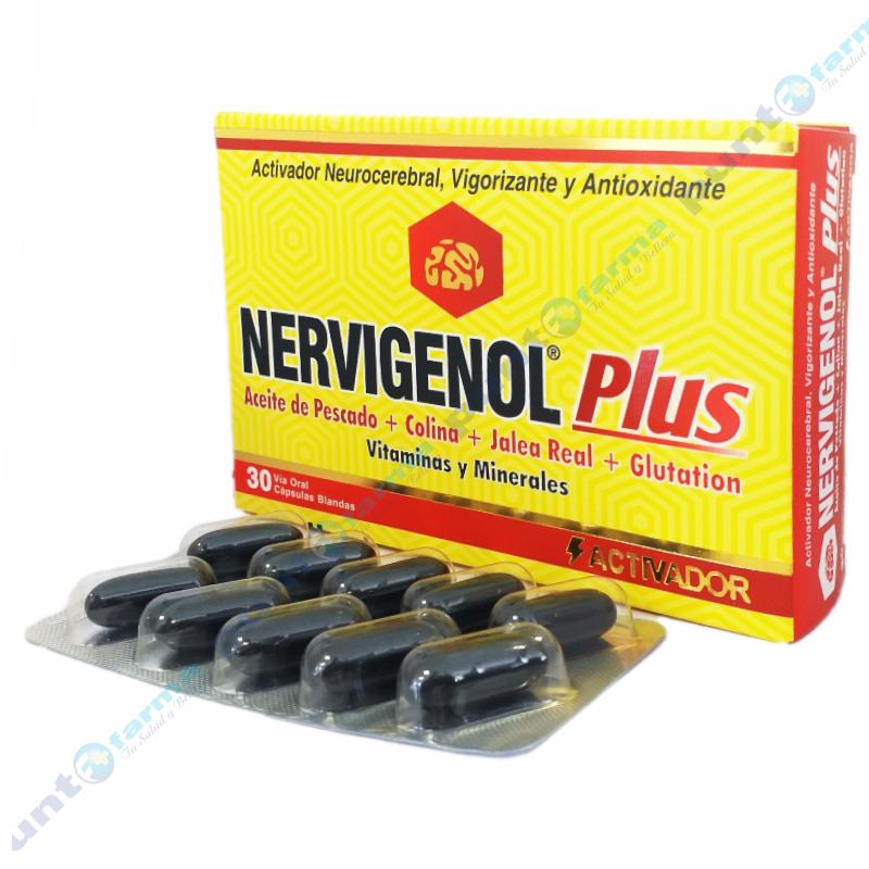Imagen de producto: Nervigenol® Plus - Caja de 30 capsulas