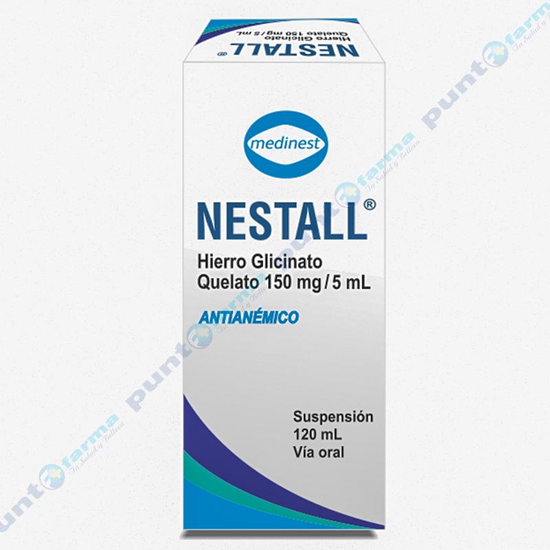 Imagen de producto: Nestall hierro glicinato quelato - Frasco 150 mg/ 5ml