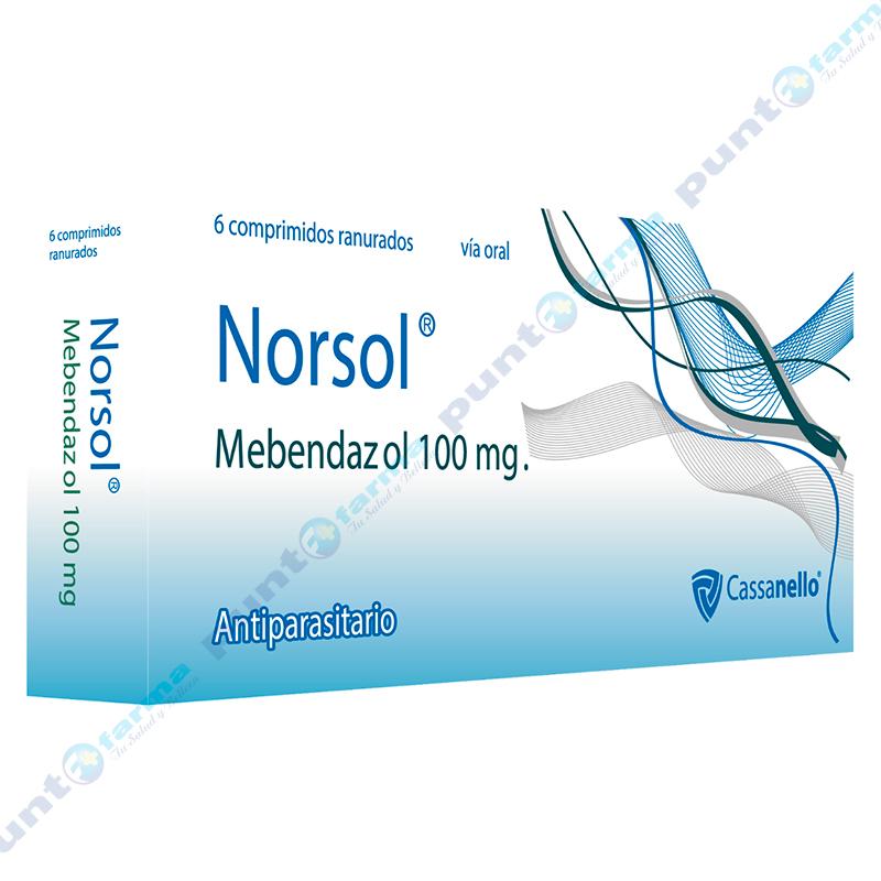 Imagen de producto: Norsol® - Caja de 6 comprimidos ranurados