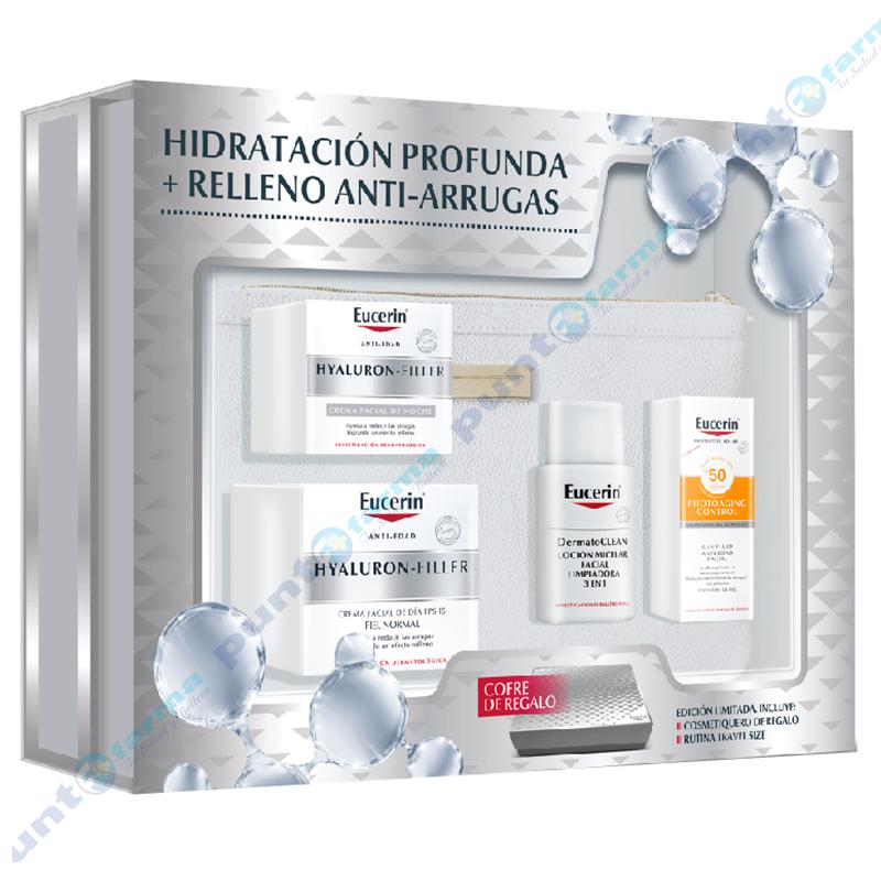 Imagen de producto: Pack Eucerin Hyaluron Filler + Cofre DE REGALO!