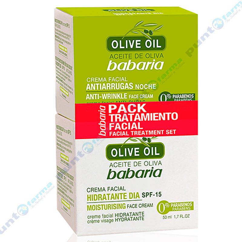 Imagen de producto: Pack Tratamiento Oliva Dia Y Noche - 50mL