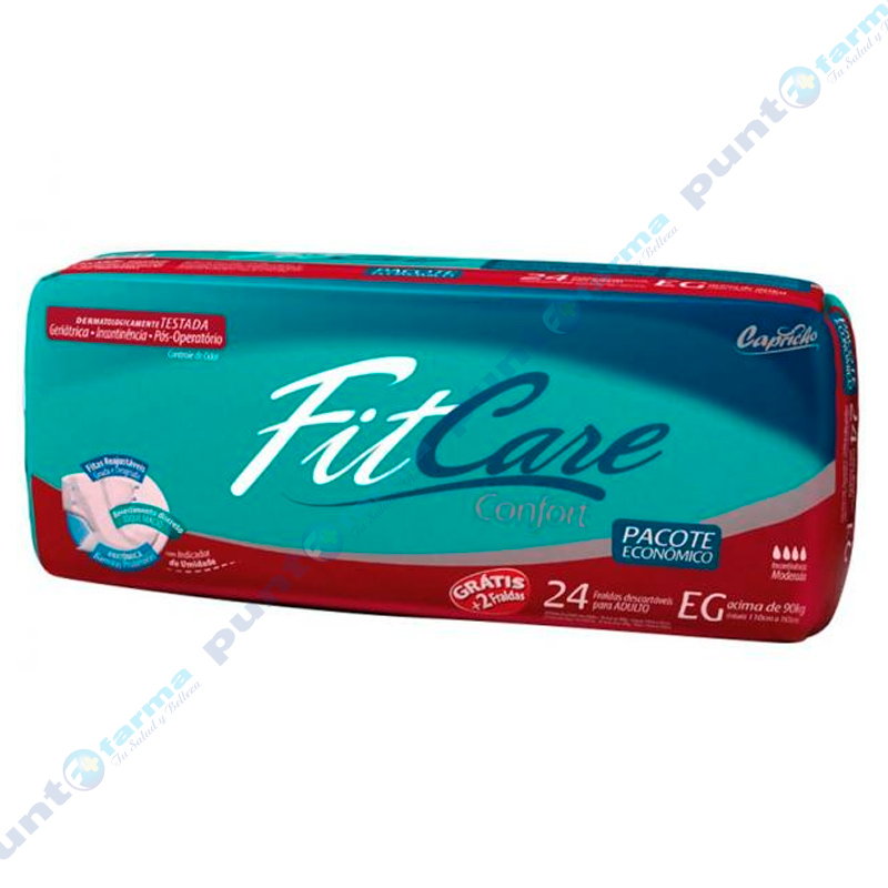 Imagen de producto: Pañal desechable para adultos Fit Care Confort EG  - Cont. 24 unidades