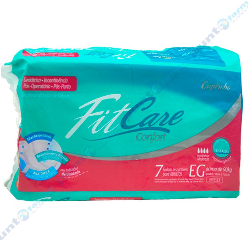 Imagen de producto: Pañal desechable para adultos FitCare Confort EG  - Cont. 7 unidades