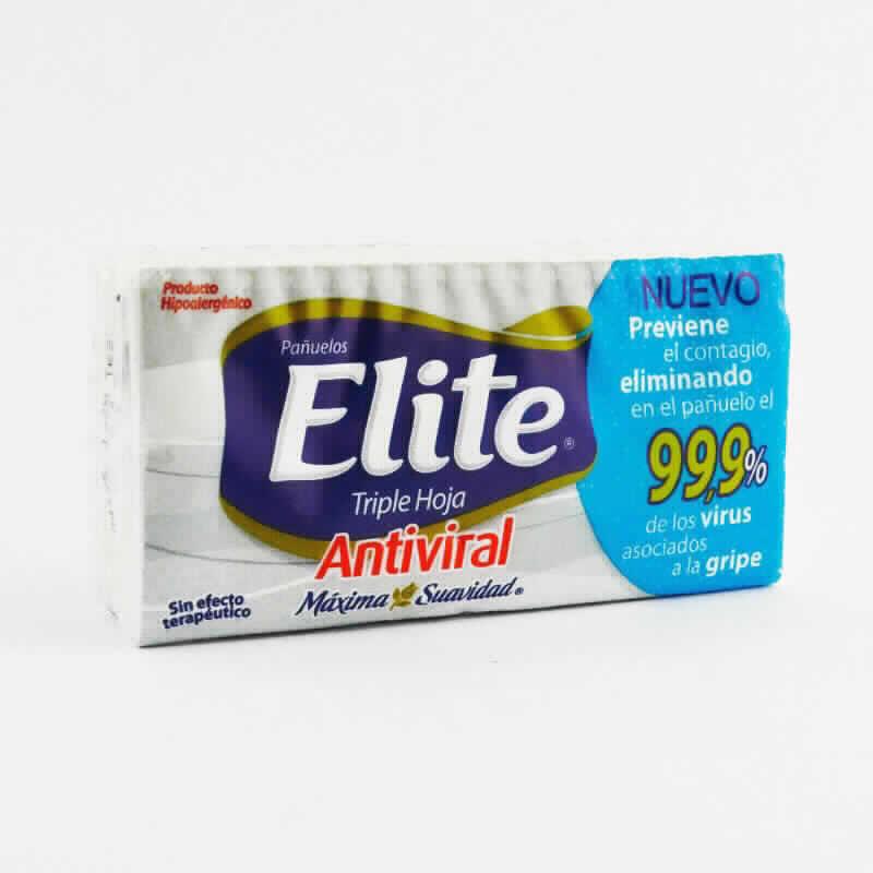 Imagen de producto: Pañuelos Descartables Elite® Triple Hoja - Antiviral - 10 pañuelos desechables