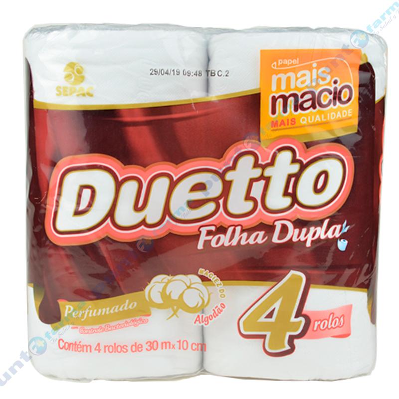 Imagen de producto: Papel Higiénico Duetto Perfumado - Cont. 4 rollos