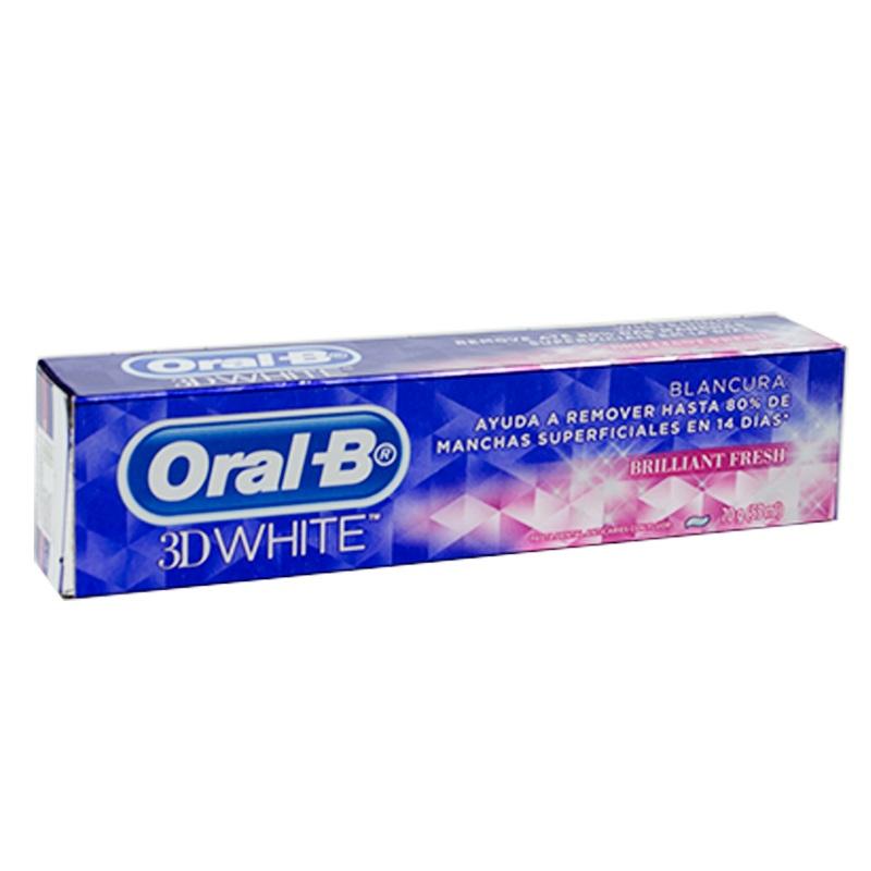 Imagen de producto: Pasta Dental Oral-B® 3DWhite Brilliant Fresh - 70g