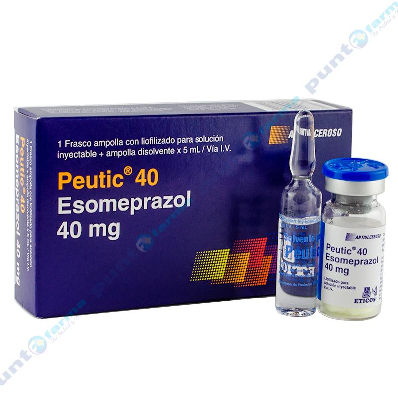Imagen de producto: Peutic® 40 Esomeprazol 40 mg
