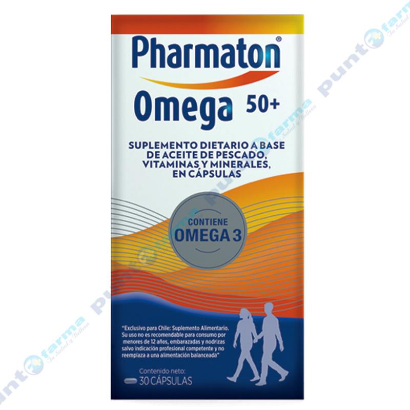 Imagen de producto: Pharmaton® Omega 50+ - Cont. 30 cápsulas