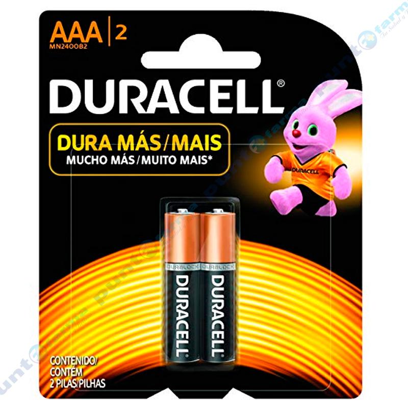 Imagen de producto: Pila DURACELL® AAA/2 - Contiene 2 pilas