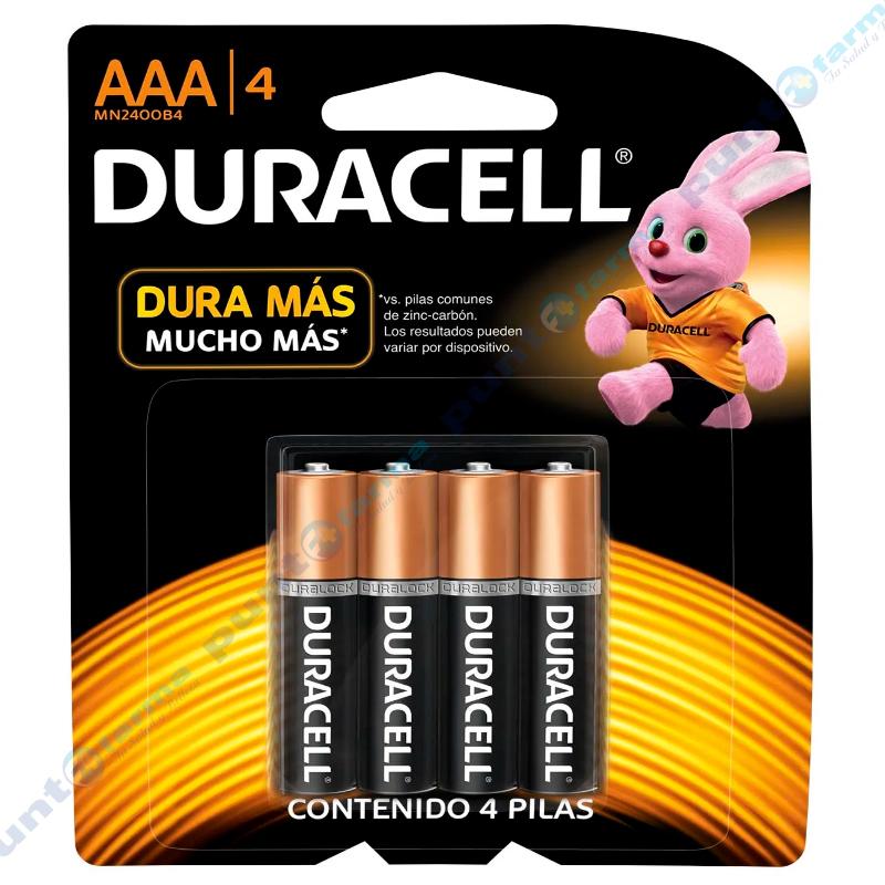 Imagen de producto: Pila DURACELL® AAA/4 - Contiene 4 pilas