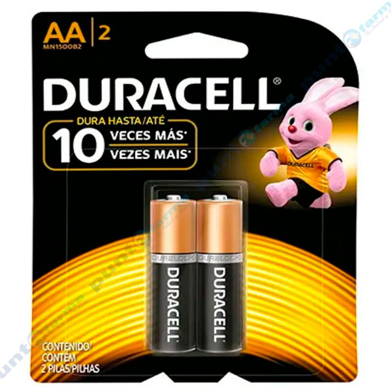 Imagen de producto: Pilas DURACELL® AA/2 - Contiene 2 pilas