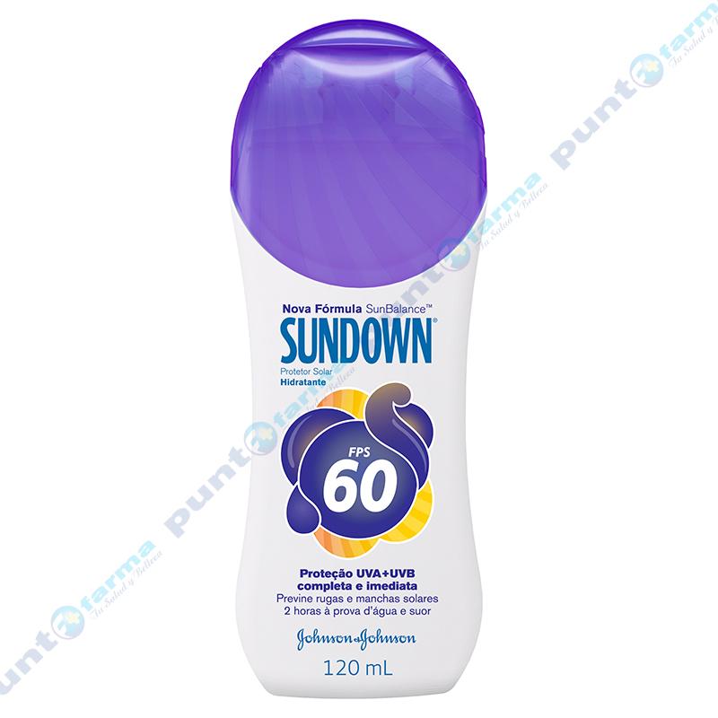 Imagen de producto: Protector Solar SUNDOWN FPS60 Johnson & Johnson  - 120mL