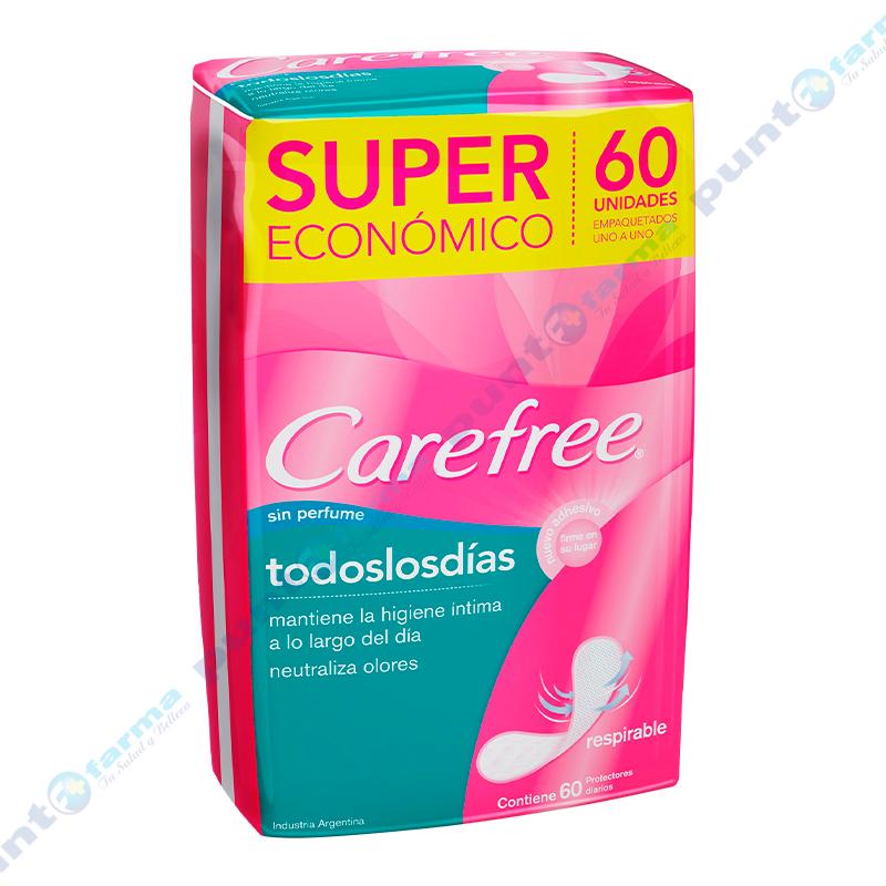 Imagen de producto: Protectores Diarios Todos los Dias Carefree® - Cont. 60 unidades