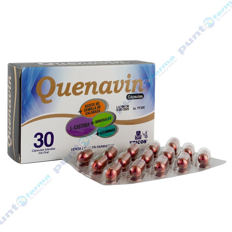 Imagen de producto: Quenavin® - Caja de 30 cápsulas