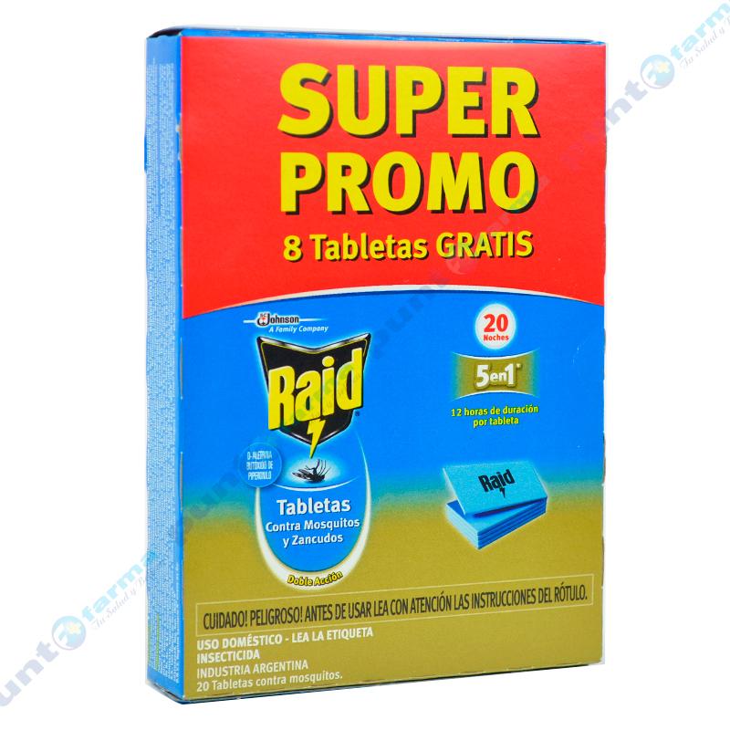 Imagen de producto: Raid® Tabletas - Super Promo 8 tabletas gratis