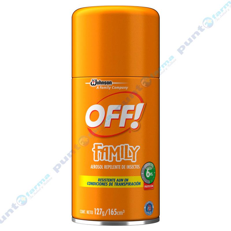 Imagen de producto: Repelente OFF!® Family Aerosol - 127g