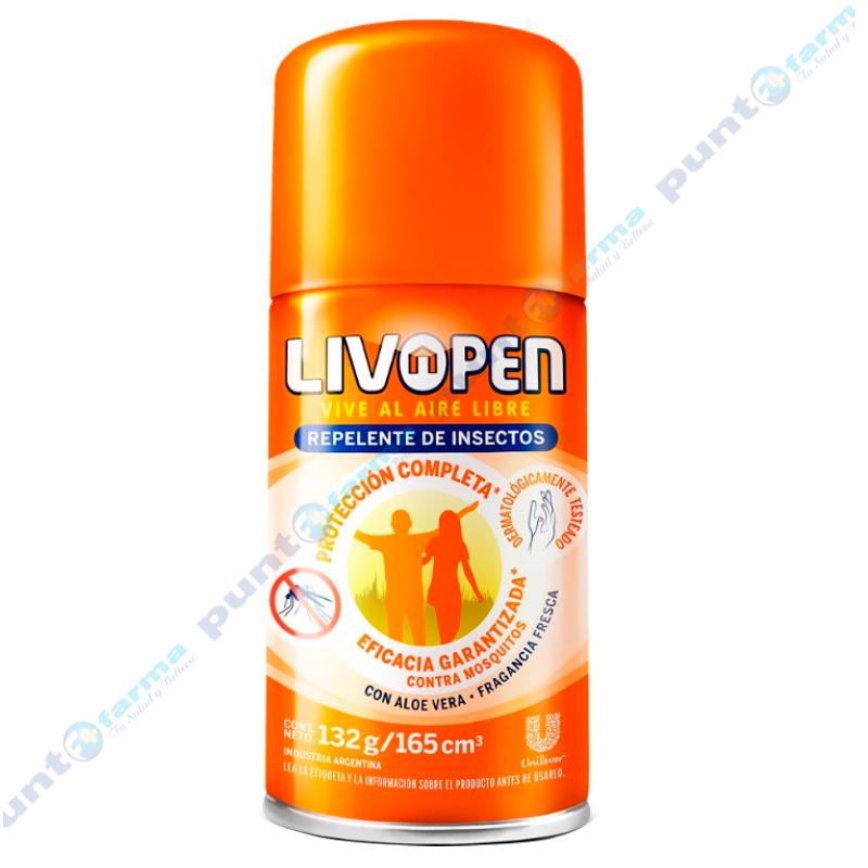 Imagen de producto: Repelente de insectos Protección Completa Livopen  - 132g