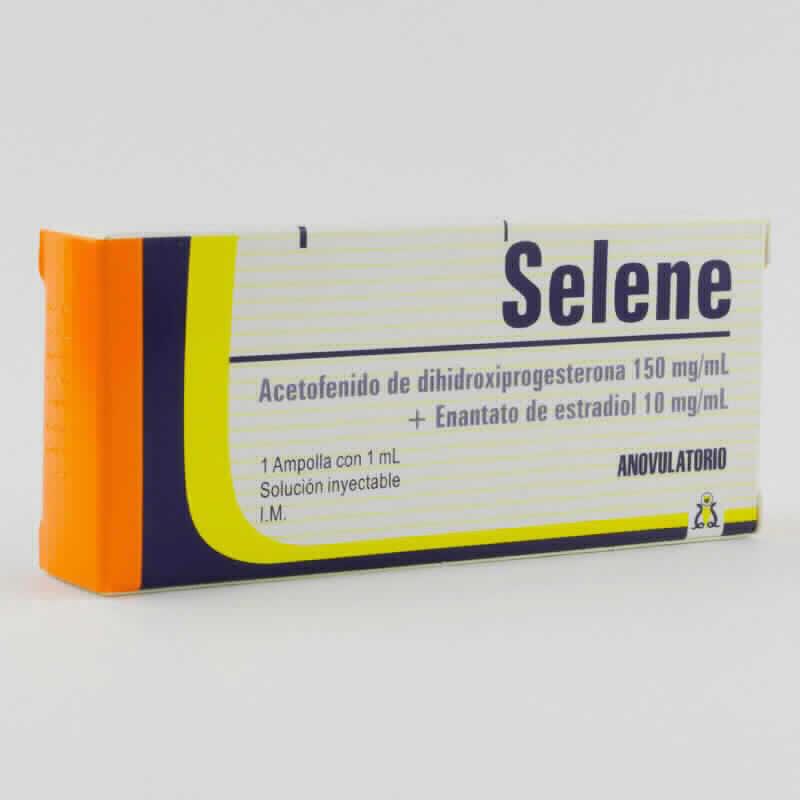 Imagen de producto: Selene Anovulatorio - 1 ampolla con 1 ml