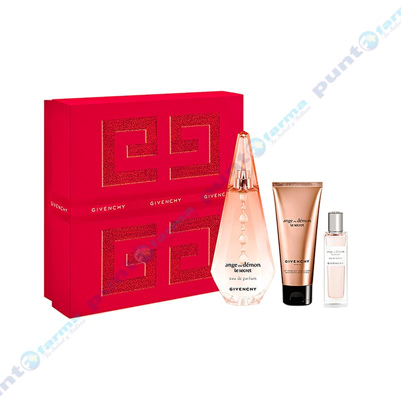 Imagen de producto: Set de Givenchy Ange ou Demon Le Secret  Xmas S (EDP 100 mL + Body Lotion 75 mL + Travel Sray 15 mL)