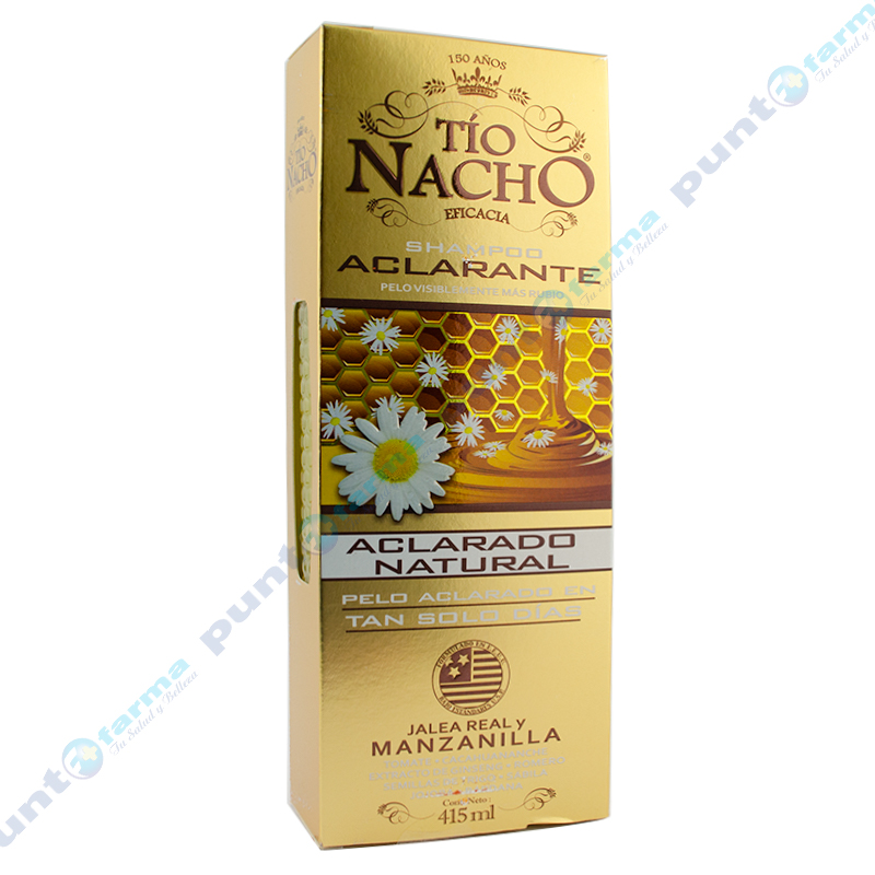 Imagen de producto: Shampoo Aclarante Tío Nacho® - 415mL