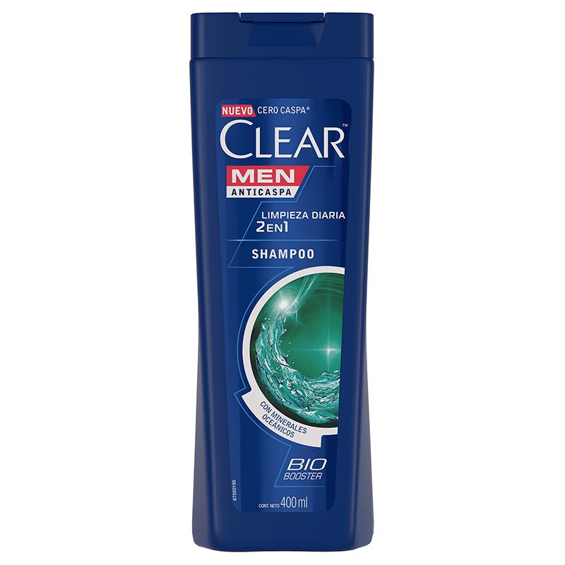 Imagen de producto: Shampoo Anticaspa Dual Effect  2en1 Clear Men - 400 mL