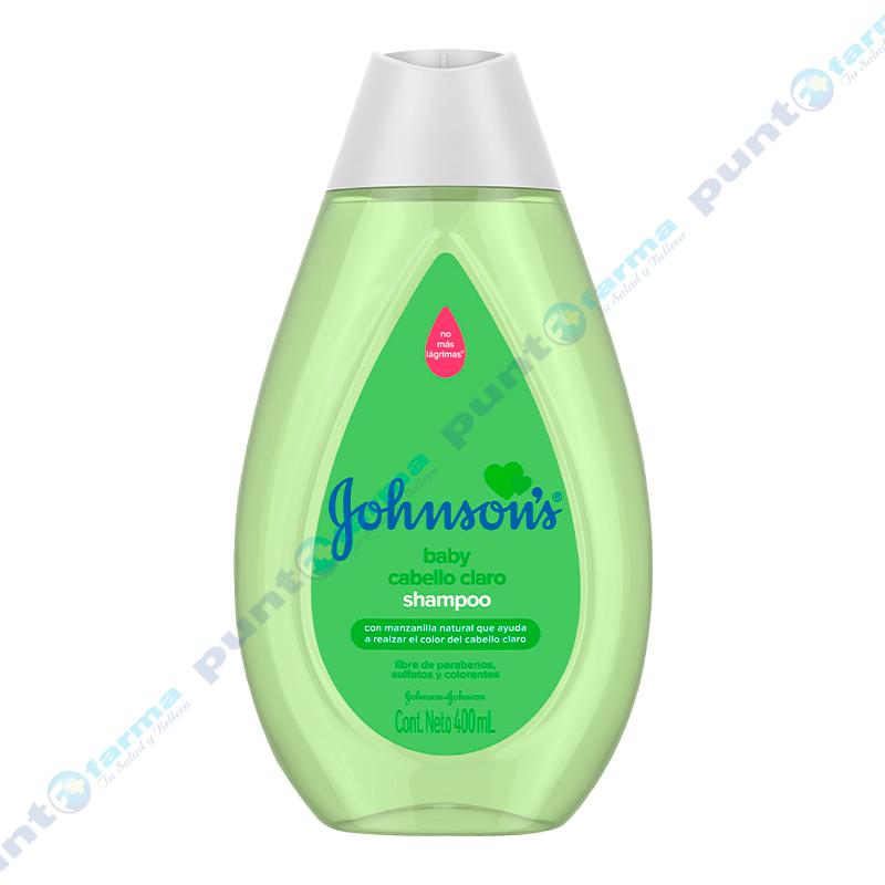 Imagen de producto: Shampoo Cabello Claro Johnson's Baby  - 400 mL