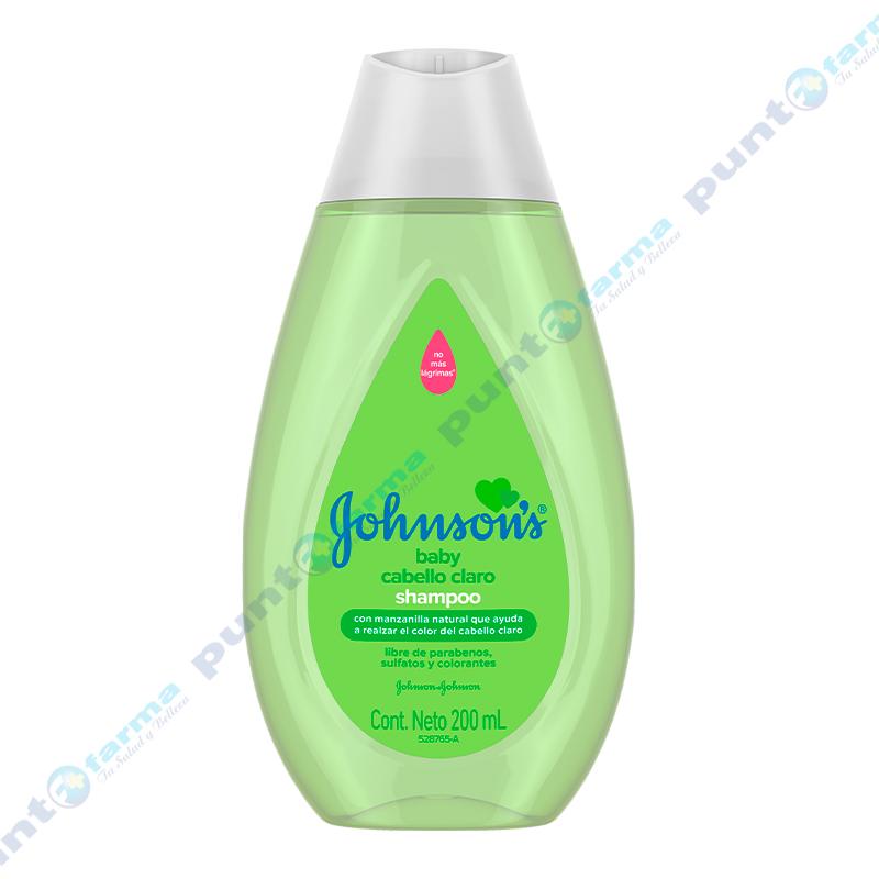 Imagen de producto: Shampoo Cabello Claro Johnson's Baby - 200 mL