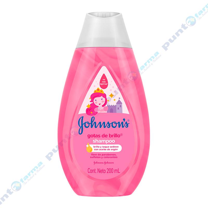 Imagen de producto: Shampoo Gotas de Brillo Johnson's Baby - 200 mL