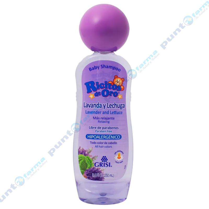 Imagen de producto: Shampoo Lavanda y lechuga Ricitos de Oro® - 250mL