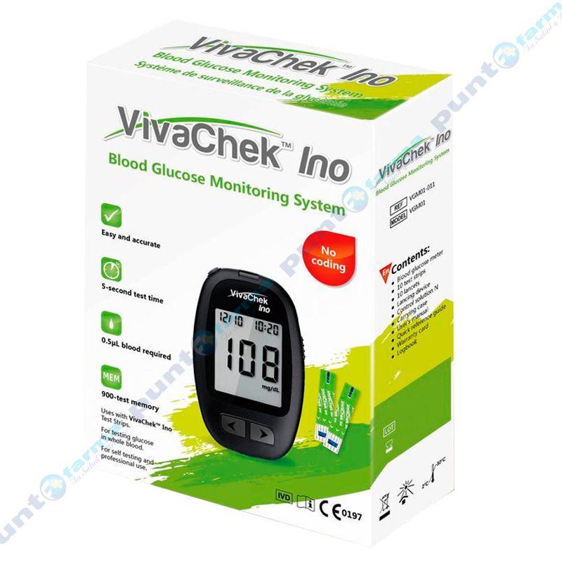 Imagen de producto: Sistema de control de Glucosa en Sangre VivachekIno